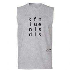 Kindfullness unisex/mens muscle tank