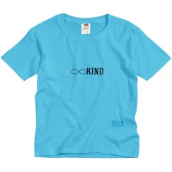 Kind infinity youth tee