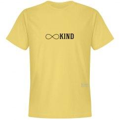 Kind infinity unisex/mens tee