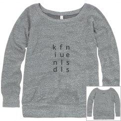 Kindfullness fitted sweatshirt