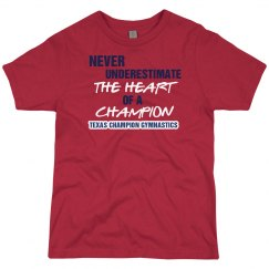 Heart of Champion Boy Red