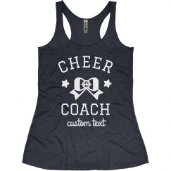 Cheer Coach Custom Cheerleading Tank