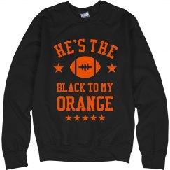 The Black To My Orange