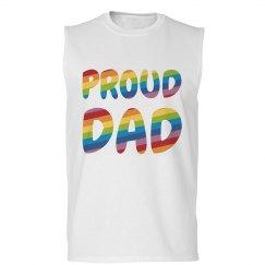 Proud Dad Gay Pride