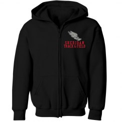 Youth Zippered Hoodie Track