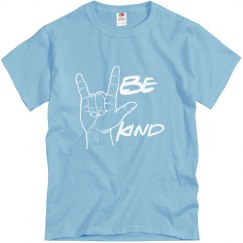 Be Kind w love sign