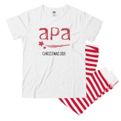 Youth Striped APA Holiday Pajamas