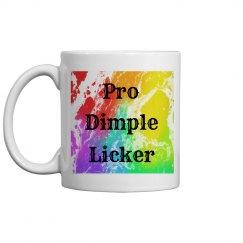 Pro Dimple Licker Mug