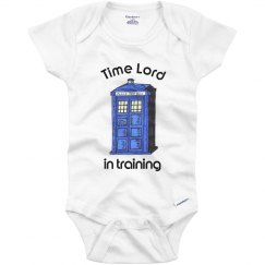 Time Lord in training