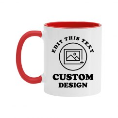 Custom Father's Day Photo Mug