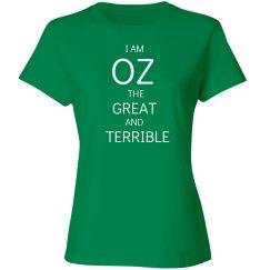 I Am Oz (With Back Print)