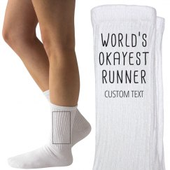 Personalized World's Okayest Runner