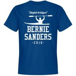 Kayaking Bernie Sanders