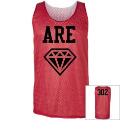 ARE Diamond  Hoop Mesh Tank