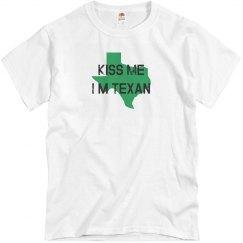 Kiss me I'm Texan.