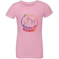 Girl's Premium Mental Mommy T