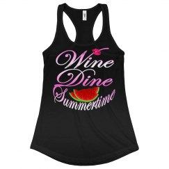 Wine Dine Summertime