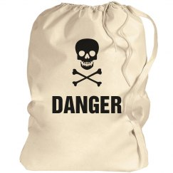 Danger Laundry Bag