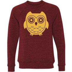 Owl Graphic Sweatshirt