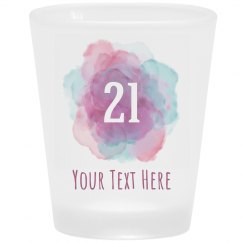 Your Custom Text Birthday Shot Glass