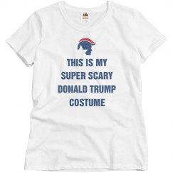 Funny Donald Trump Halloween Costume