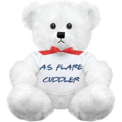 A.S. FLARE CUDDLER TEDDY BEAR