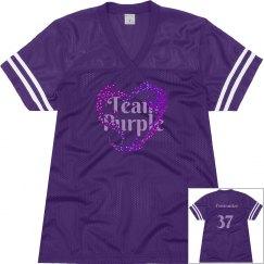 Team Purple Personalized Jersey