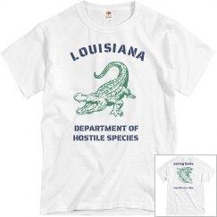 Louisiana Dept of Hostile Species
