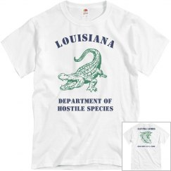Louisiana Dept of Hostile Species