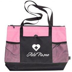 Custom Nurse Bags Add Name & Text