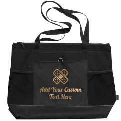 Metallic Custom Text Nurse Bag Gift