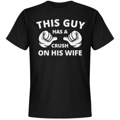 Crush on his wife