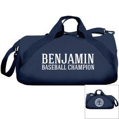 Benjamin, baseball champ