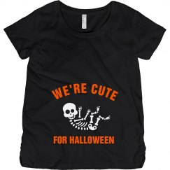 Cute For Halloween Skeleton Baby