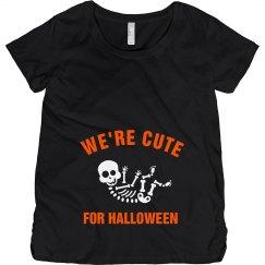Cute For Halloween Skeleton Baby