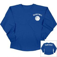 Customize basketball jersey