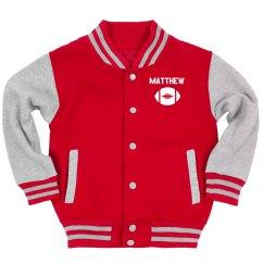 Custom Youth Sports Varsity Jacket