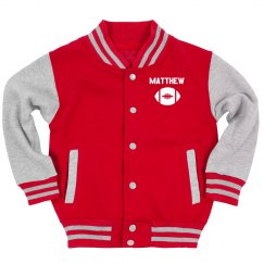 Custom Youth Sports Varsity Jacket