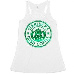 Metallic St. Pat's Starlucks Coffee