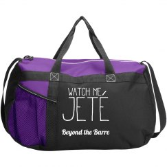 Watch Me Jete Dancebag