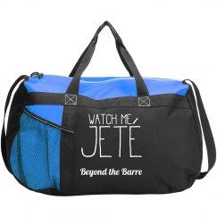 Watch Me Jete Dancebag