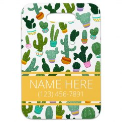 Custom Succulent Print Travel Gift