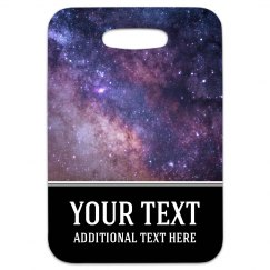 Custom Galaxy Space Travel Tag