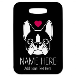 I Love Dogs Cute Travel Tag