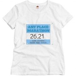 Celebrate a Marathon Time & Date
