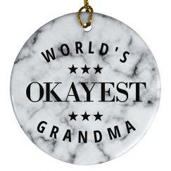 Funny World's Okayest Grandma