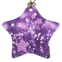 Purple Bokeh & Stars
