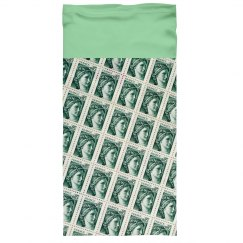 Green Woman Stamps