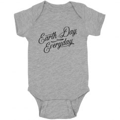 Earth Day Everyday Baby Bodysuit