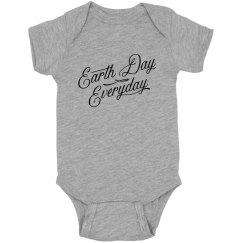 Earth Day Everyday Baby Bodysuit